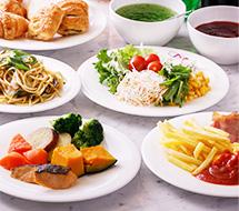 40種類以上の食材を使用